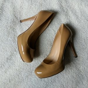 Kate Spade Nude Patent Leather Heels